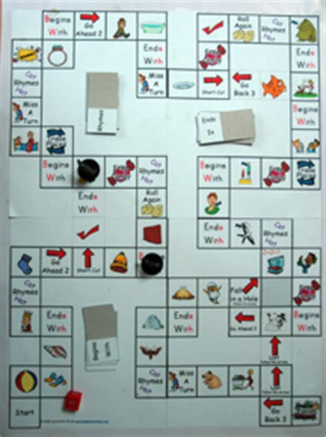 phonics board games   spell