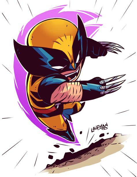 Chibi Wolverine By Dereklaufmandeviantartcom On