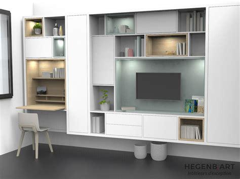 meuble bureau bibliotheque une conception originale et un design personnalisé de