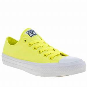 womens yellow converse chuck taylor all star ii neon