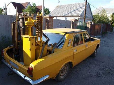 Газогенераторные автомобили на дровах