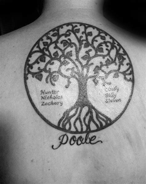 50+ Tree of Life Tattoo Design Variations for Strong - Tats 'n' Rings