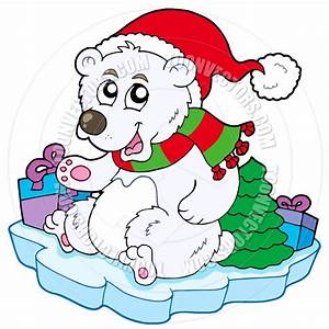 Cartoon Christmas Polar Bear | Clipart Panda - Free ...