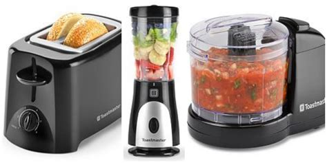 Kohl's: Toastmaster Small Kitchen Appliances $4.99 {After