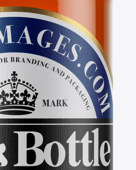 Display your design in a more efficient way on this mockup of a clear glass bottle with whiskey. Download 330ml Clear Glass Bottle With Lager Beer Mockup ...