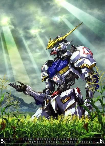 Gundam Barbatos Asw Anime Iron Blooded Mecha