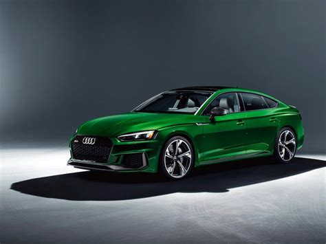 Green Cars by 2019 Audi Rs5 Sportback Green Car Wallpaper Cars