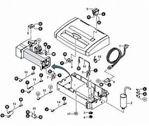 Hsm Classic 104 108 125 225 Paper Shredder Oem Rocker Switch 1pole New