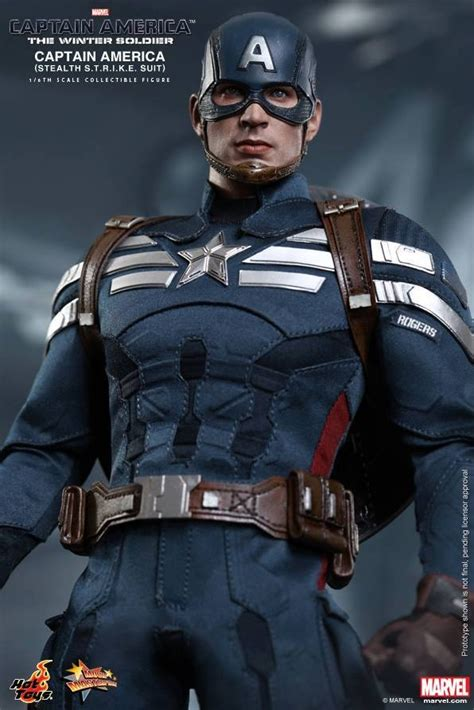 hot toys captain america stealth suit  pre order