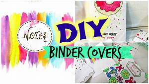 DIY-Binder covers // Easy and Affordable - YouTube