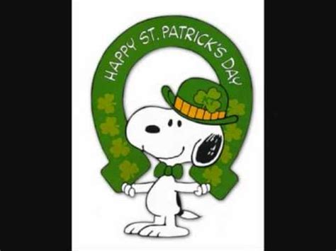 Free St Patricks Day Wallpaper Snoopy Movies St Patrick 39 S Day Youtube