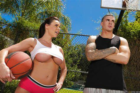Basketball Classroom Cutie Outdoors Sports With Small Titty Aunties Curvy Kendra Hardcore In