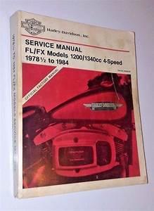Harley Davidson Service Manual 1978