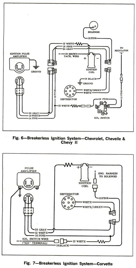 3 Wire Alternator Wiring Diagram 62 Impala by 1966 Corvette Service News Wiring Diagrams For