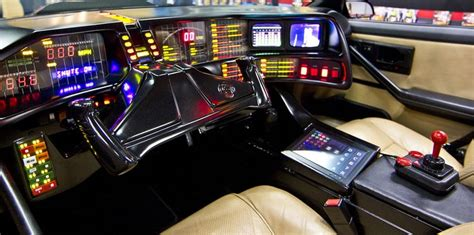 pin  paul  brown  automobile awesomeness knight rider cars  custom car interior