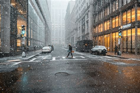 person street snow  hd photography  wallpapers