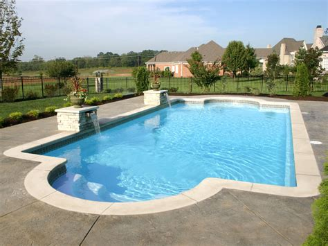 fiberglass pool designs acapulco large fiberglass inground viking swimming pool