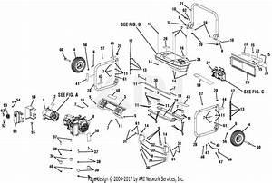 Homelite Ut905000p 5000 Watt Generator Parts Diagram For