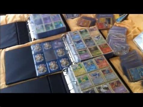 ma collection entiere de cartes pok 233 mon pour f 234 ter mon bac