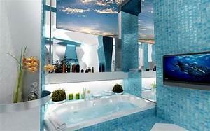 Meuble Salle De Bain Turquoise : meuble salle de bain bleu turquoise aqua meuble salle de ~ Dailycaller-alerts.com Idées de Décoration