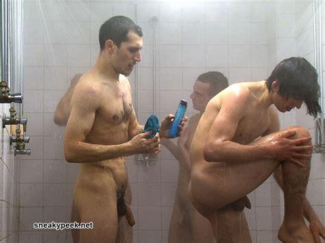 Spy Cam_soccer Team Groupal Showers Really Hot Video
