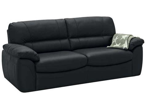 canapé fixe 3 places en cuir
