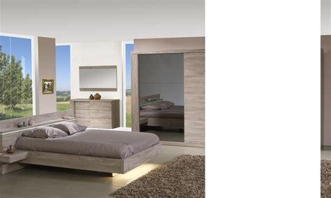chambre d h es c e d or chambre complète contemporaine couleur chêne clair