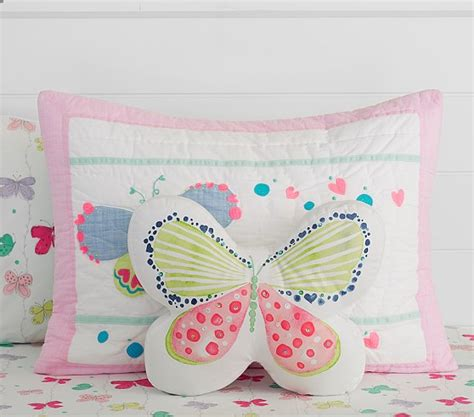 Pottery Barn Butterfly Wall Decor by Sparkle Butterfly Decorative Pillow Pottery Barn
