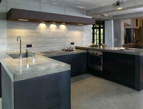 beton cuisine le béton crée l 39 ambiance dans ma cuisine