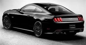 Ford Mustang Black Car Fondos | Fondos de Pantalla