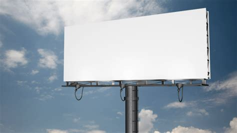 billboard blast template three rules for outdoor success