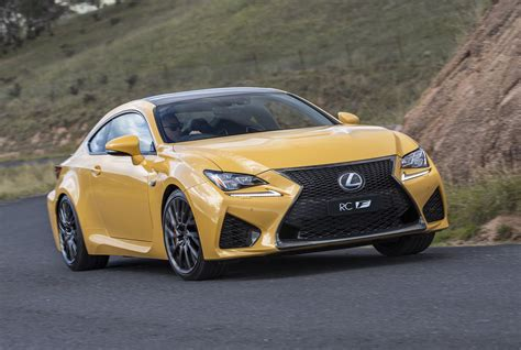 2018 Lexus Rc F Now On Sale; Gets Drive Start Control