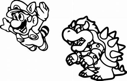 Mario Coloring Pages Kart Rudolph Super Bros