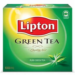 Lipton: Green Tea Bag (25 Sachet)