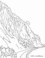 Coloring Weltkugel Zum Island Cliff Ausdrucken Ausmalbilder Rugen Cliffs Malvorlagen Ausmalen Hellokids Kostenlose sketch template