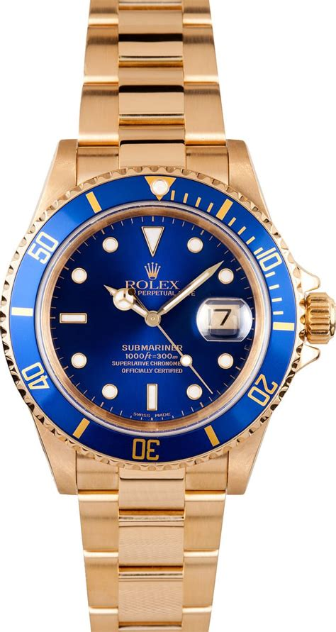 rolex  yellow gold submariner   prices ships