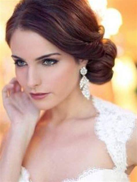 coiffure mariage cheveux mi visage rond coiffure mariage pour visage rond