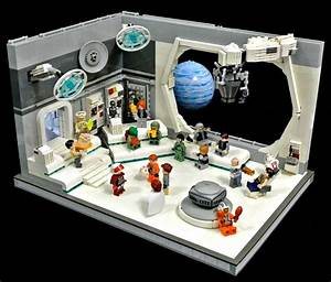 Lego space station interior | mostly fun | Pinterest ...