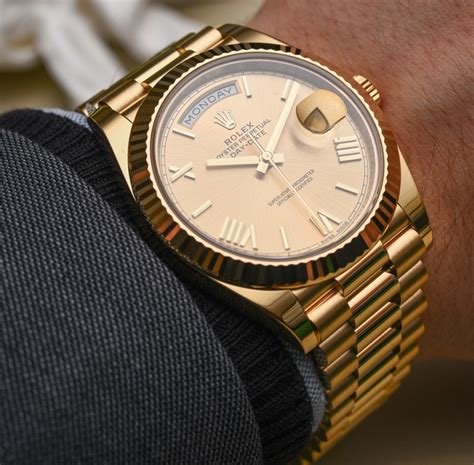 Rolex Day-date 40 Watches & The New Rolex 3255 Movement
