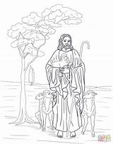 Shepherd Coloring Jesus Pages Catholic Printable Bible Sheep Supercoloring Colouring Colorear Para Colour Crafts Sheets Template Lost Story Pastor Parables sketch template