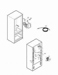 Water  U0026 Ice Maker Diagram  U0026 Parts List For Model
