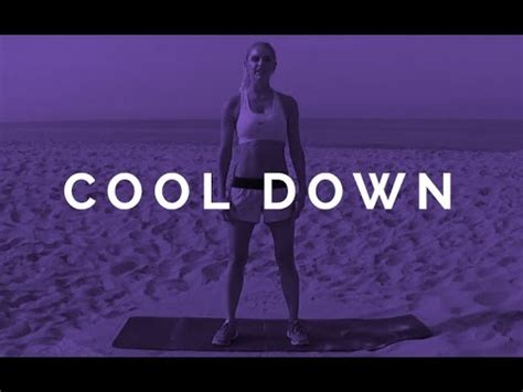how to be a cool cool down rebecca louise youtube