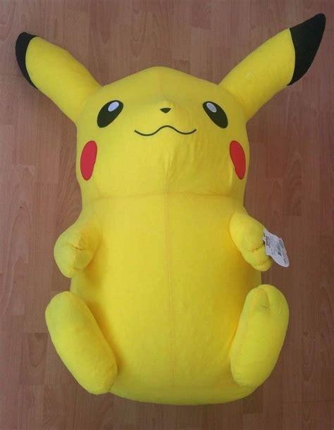 "GIANT 32"" Pikachu Plush Stuffed Animal Licensed Nintendo"