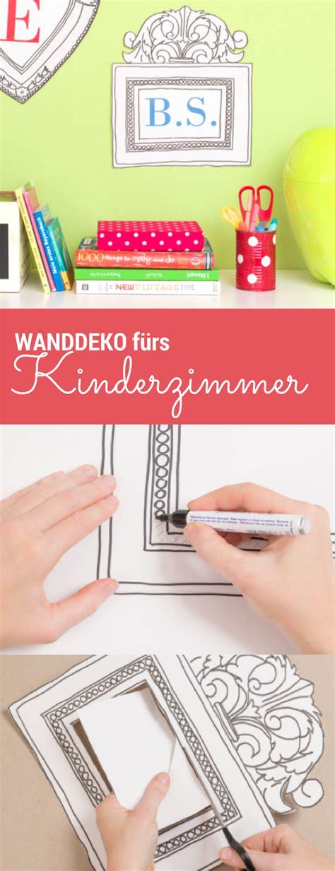 Kinderzimmer Junge Diy by Rahmen Basteln Kinderzimmer Gestalten Wanddeko