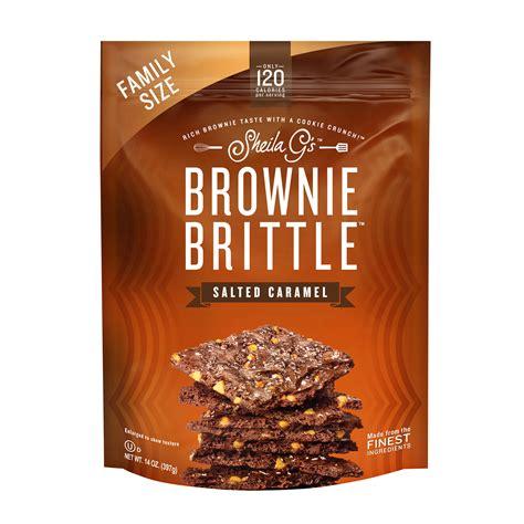 Sheila G's BROWNIE BRITTLE Chocolate Chip Crispy Crunch 14 ...
