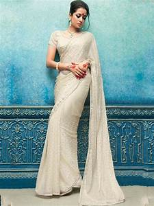 97 best white wedding sarees images on Pinterest | Wedding ...
