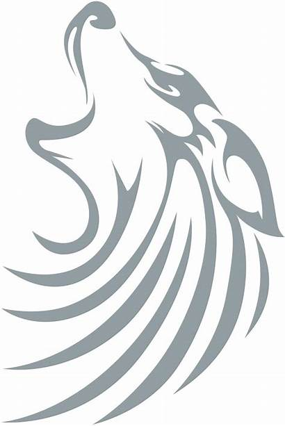 Wolf Tattoos Tribal Tattoo Howling Swish Native
