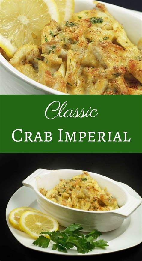 crab imperial classic recipe recipes meat easy seafood omg wow casserole lump maryland cake delicious askchefdennis dinner healthy
