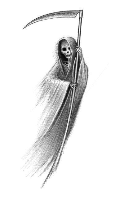 Grim Reaper Tattoos Pinte