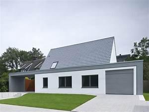 Modernes Haus Mit Satteldach : raffiniertes haus im modernen look satteldach haus haus haus bauen und einfamilienhaus ~ Orissabook.com Haus und Dekorationen